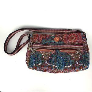 Kipling / Angie Printed Floral Crossbody Handbag